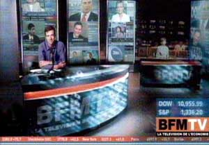 L'habillage de BFM TV 2005bfmtv_plateau