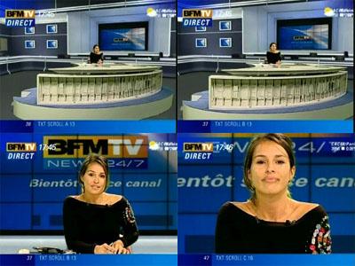 L'habillage de BFM TV 2005bfmtv_plato_01